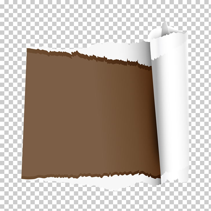 Edge , Torn Edges, brown and white paper cut PNG clipart.
