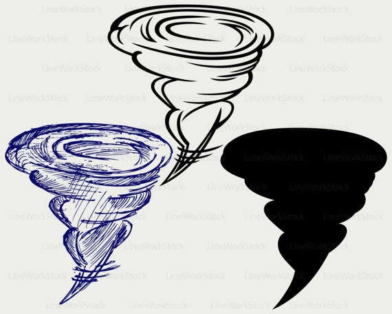 Tornado Clipart Silhouette Clipground