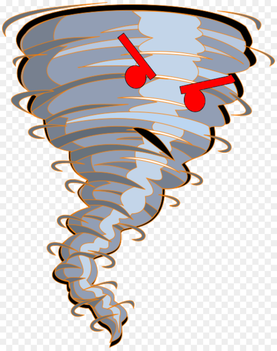 Tornado Cartoon clipart.