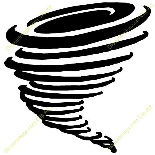 tornado black and white clipart.
