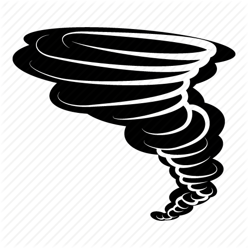 Tornado Cartoon clipart.