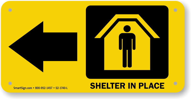 Emergency clipart shelter in place, Emergency shelter in.