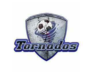 Tornados is a Gorgeous New Logo Design #logo #design.