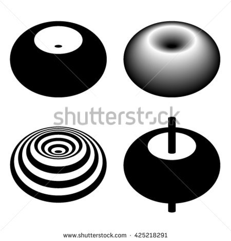 Toroid Stock Photos, Royalty.