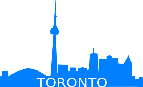 Toronto Skyline Clip Art at Clker.com.