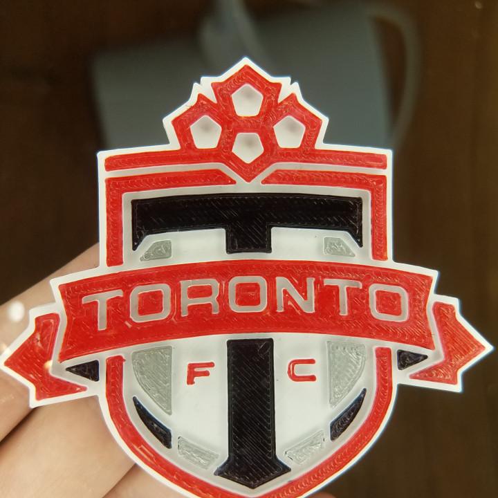 3D Printable Toronto FC logo by Anthony Reitan.