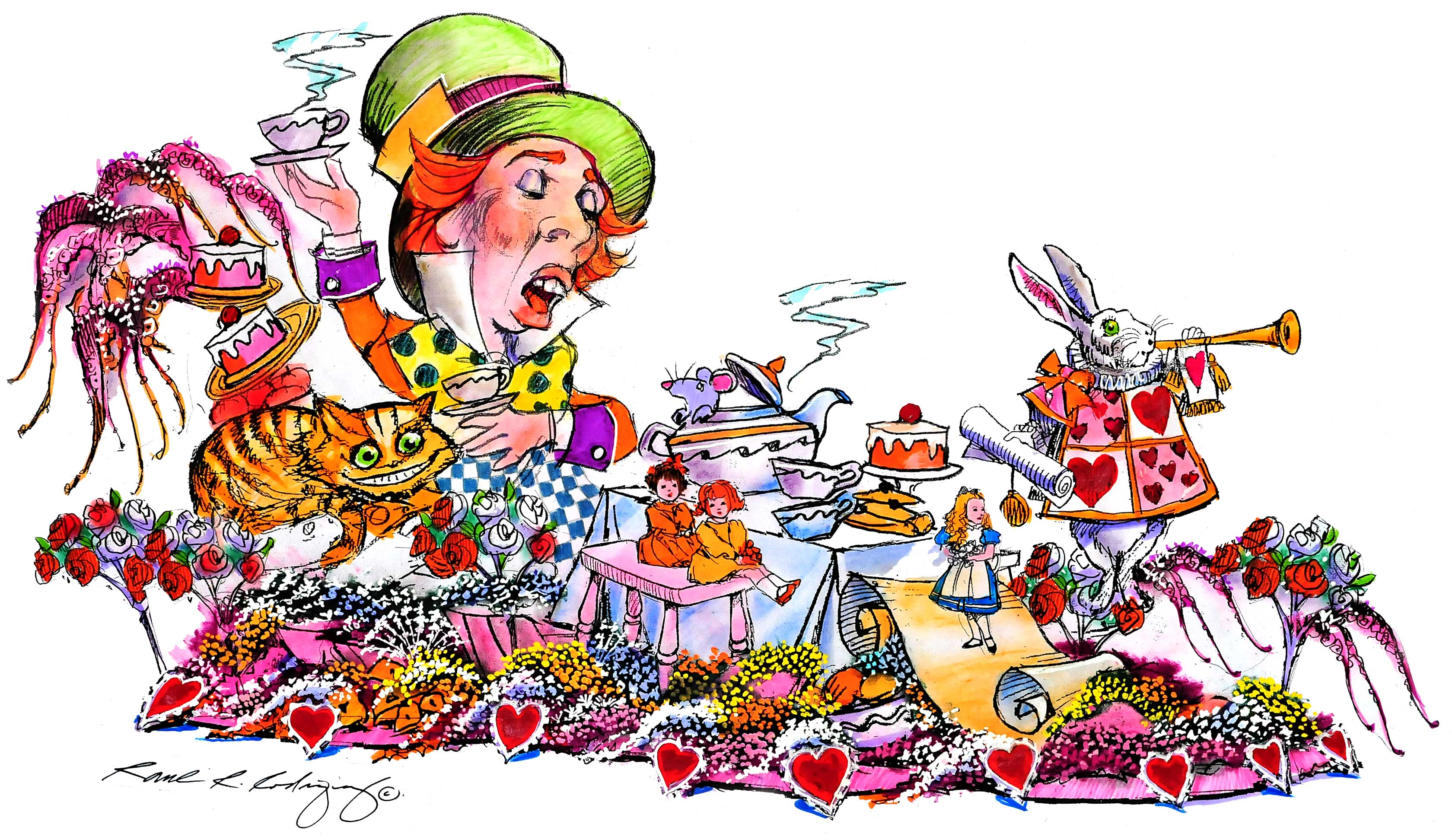 Mad Hatters Tea Party.