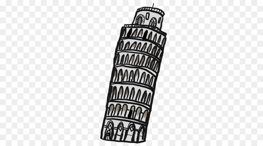 Leaning Tower Of Pisa Text.