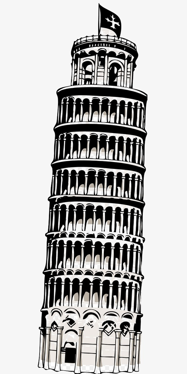 Leaning Tower Of Pisa Png (101+ images in Collection) Page 1.