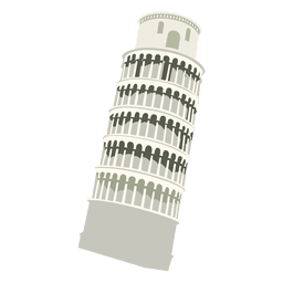 Pisa tower transparent PNG or SVG to Download.