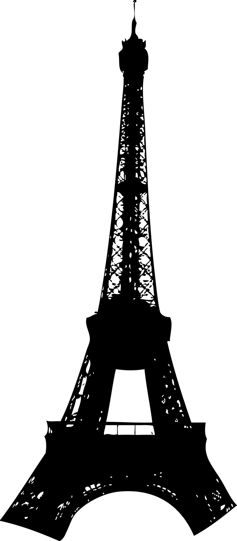 Download Free png Silueta de la torre Eiffel. D.