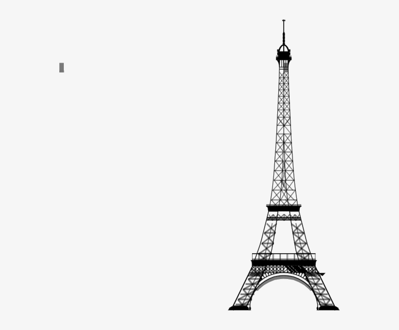 Eiffel Tower Vector Png.