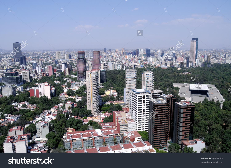 Skyline Financial Center Mexico City On Stock Photo 29616259.