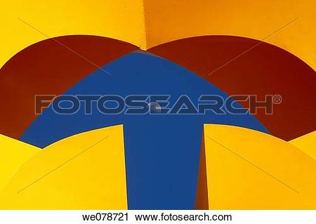 Stock Photography of Sculpture by Mexican artist Sebastian.