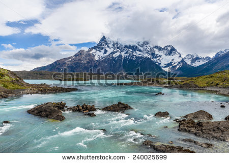Beautiful Nature Torres Del Paine National Stock Photo 549237211.