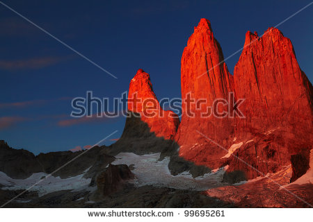 Torres Del Paine Stock Photos, Royalty.