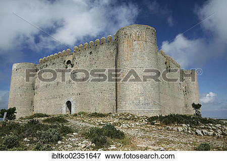 "Picture of ""Fortress El Castell del Montgri, 1294."