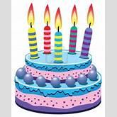 Clipart Tort Urodzinowy.