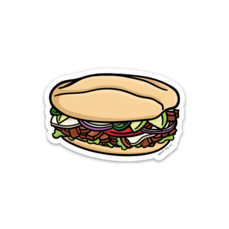 The Torta Sticker.