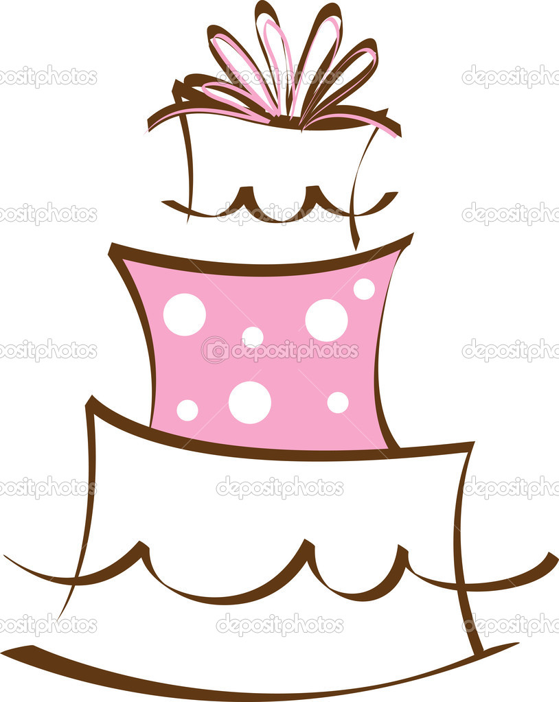 Layer Cake Clipart.