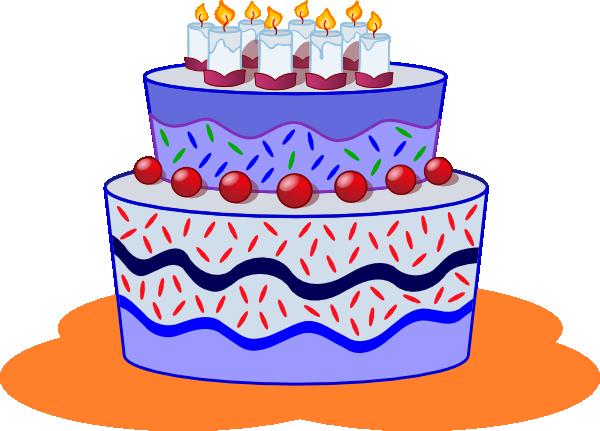 Freephile Cake Clip Art at Clker.com.