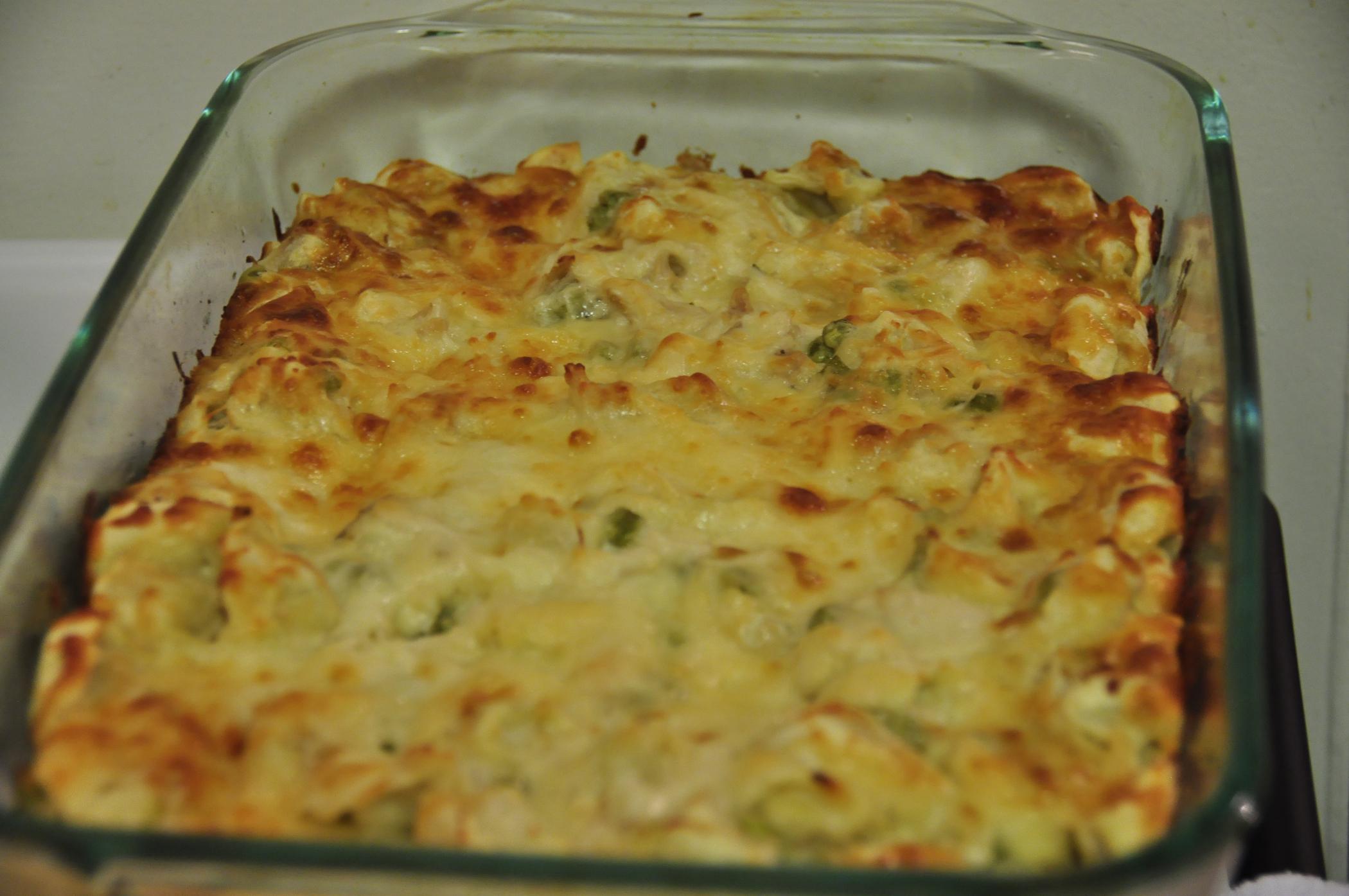 Chicken Tortellini Bake.