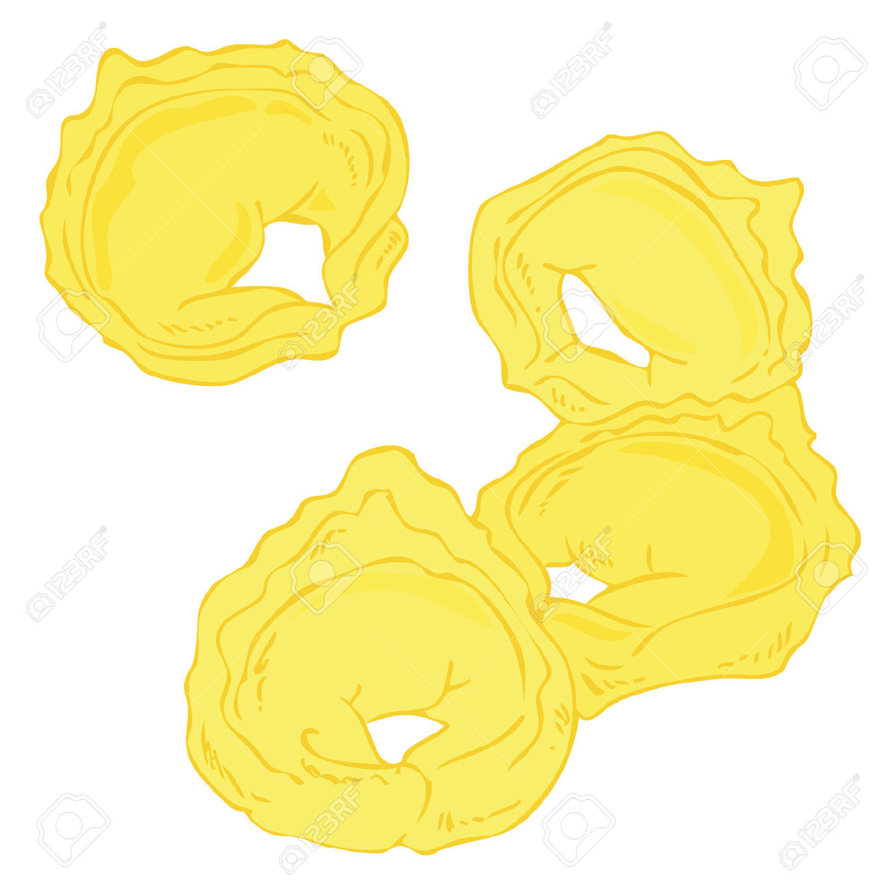 Fresh Tortellini. Royalty Free Cliparts, Vectors, And Stock.