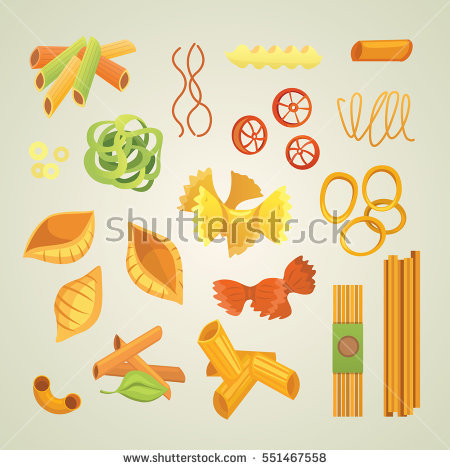 Macaroni Isolated Stock Photos, Royalty.