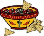 Free Tortilla Chips Clipart.