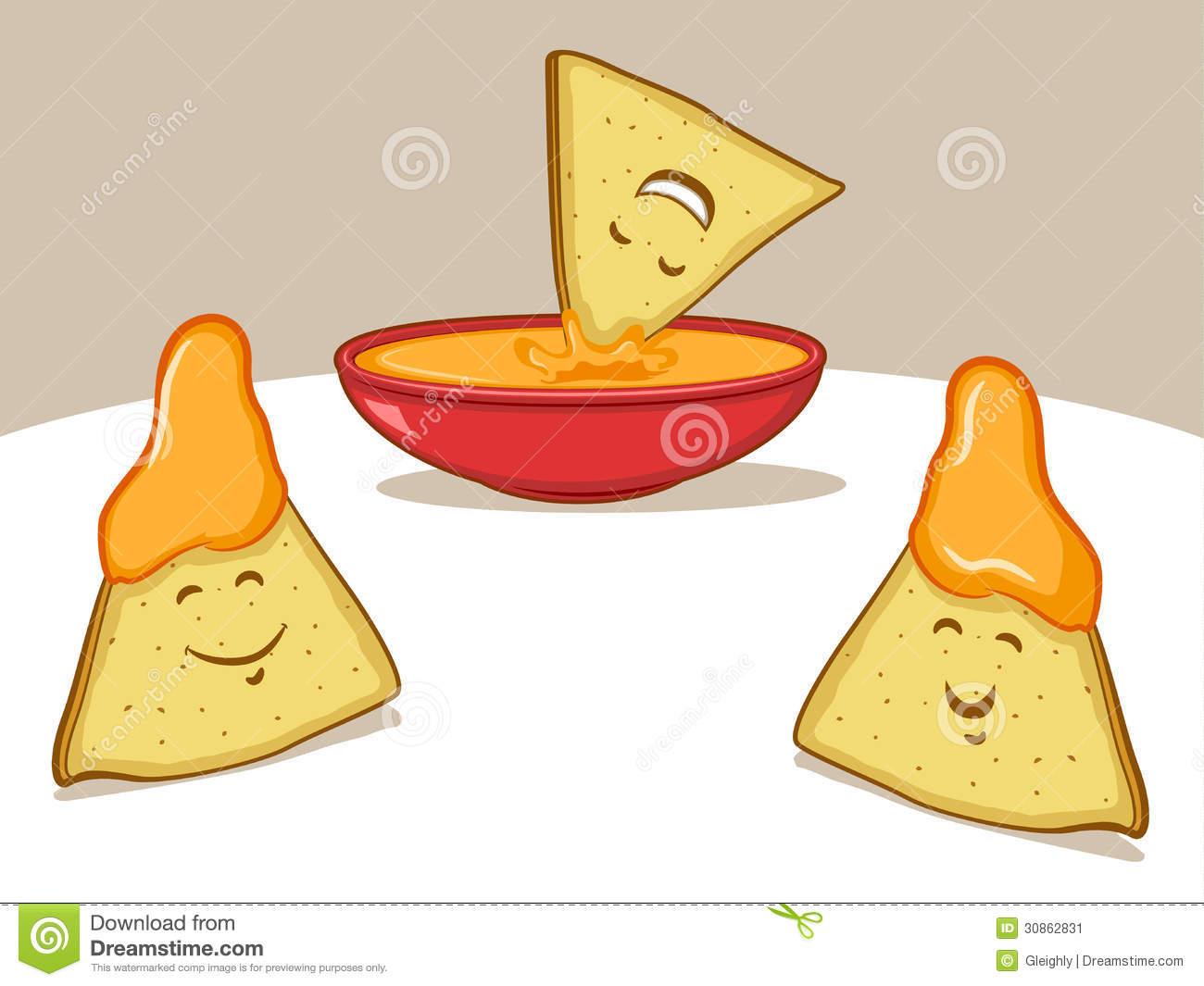 Corn Chip Clipart.