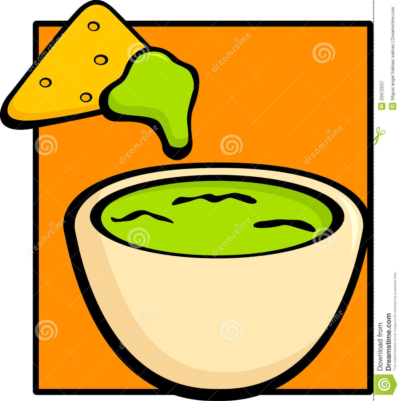 Tortilla Chips Clipart.