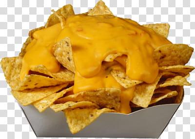 Full, nachos platter transparent background PNG clipart.