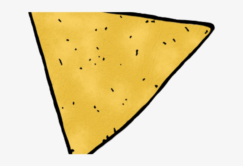 Graphic Free Library Nachos Clipart Tortilla Chip.