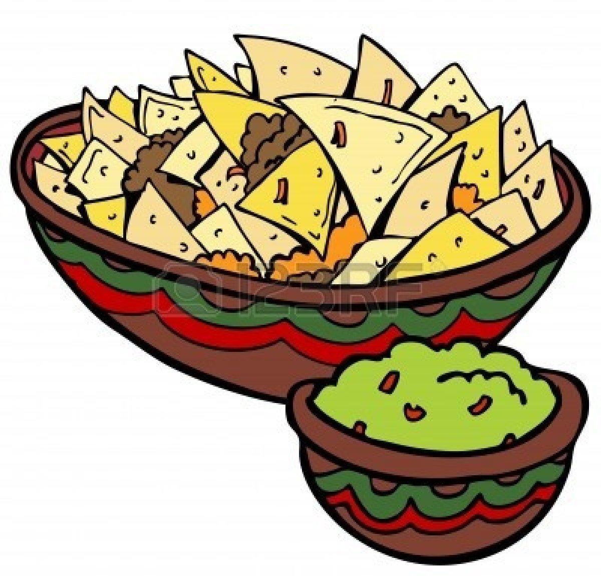 Tortilla Clipart.