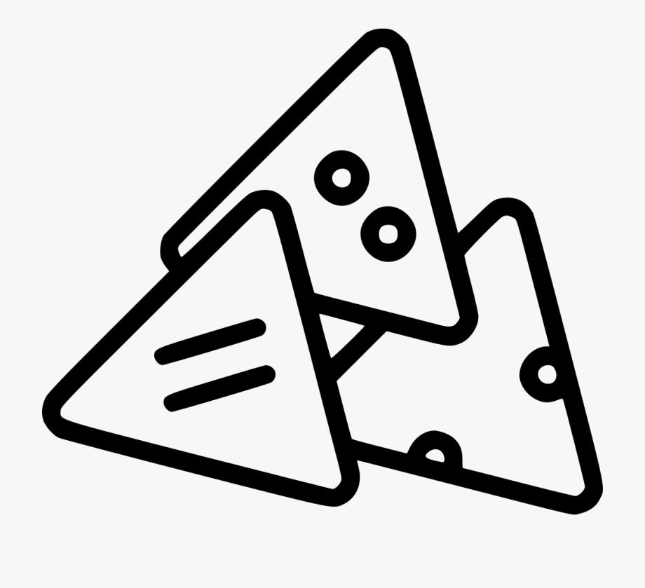 Nachos Vector Snack.