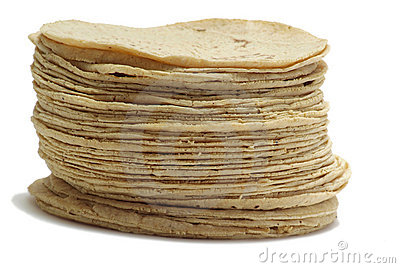 Mexican Tortillas Stock Images.