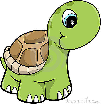 Funny tortoise clipart.