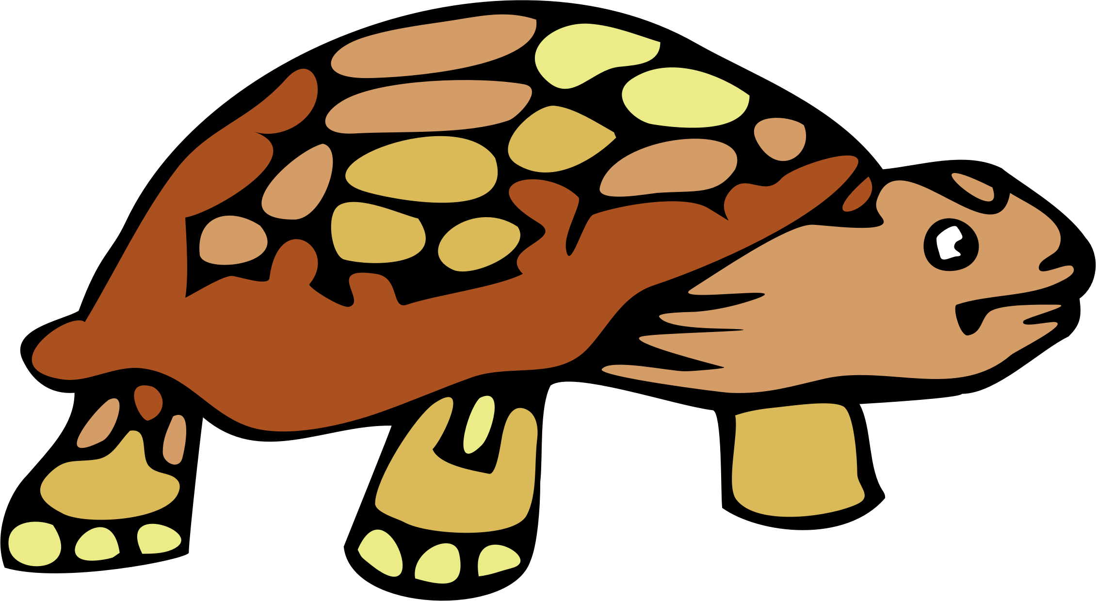Free Tortoise Clipart Image.