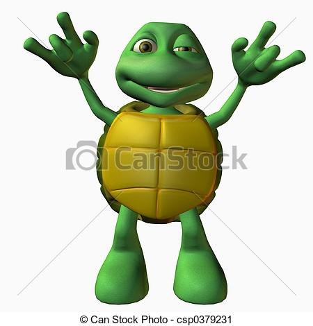 Clipart of Turtle Boy.