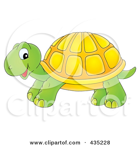 Royalty Free Stock Illustrations of Tortoises by Alex Bannykh Page 1.