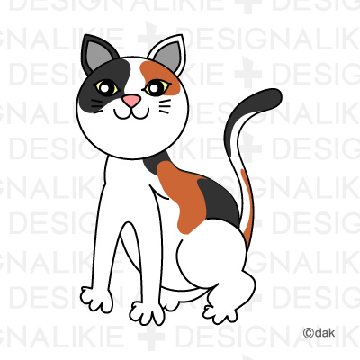 Tortoiseshell cat|Pictures of clipart and graphic design and.