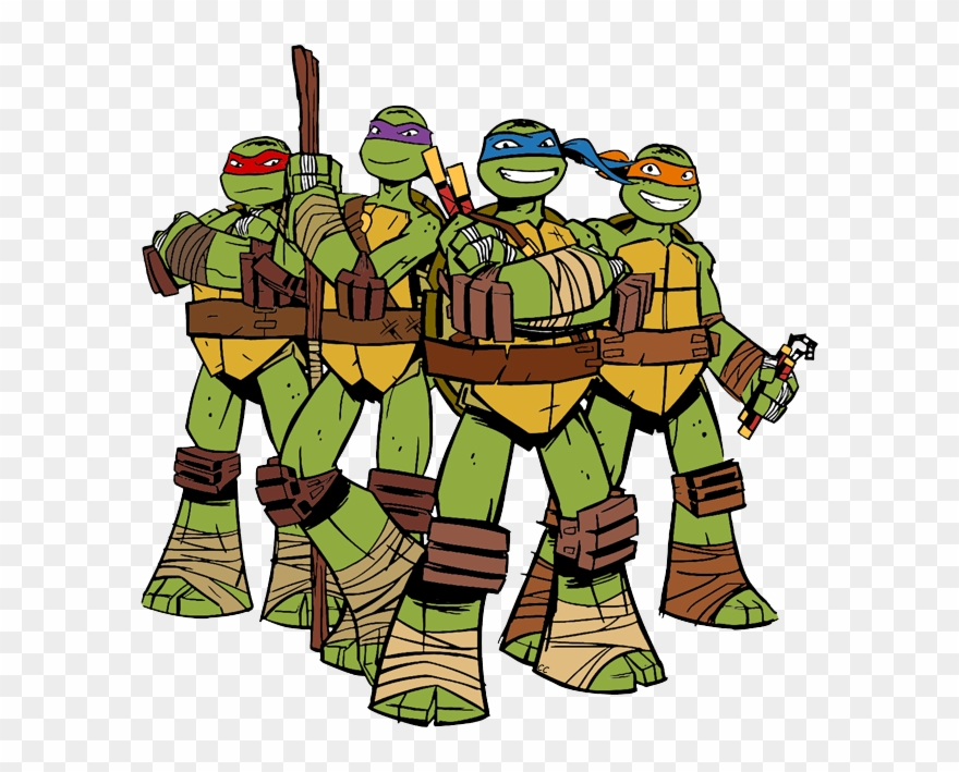 Teenage Mutant Ninja Turtles 2012 Clip Art Cliparts.