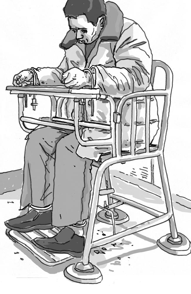 Torture in Chinese prisons: Tiger chairs and cell bosses.