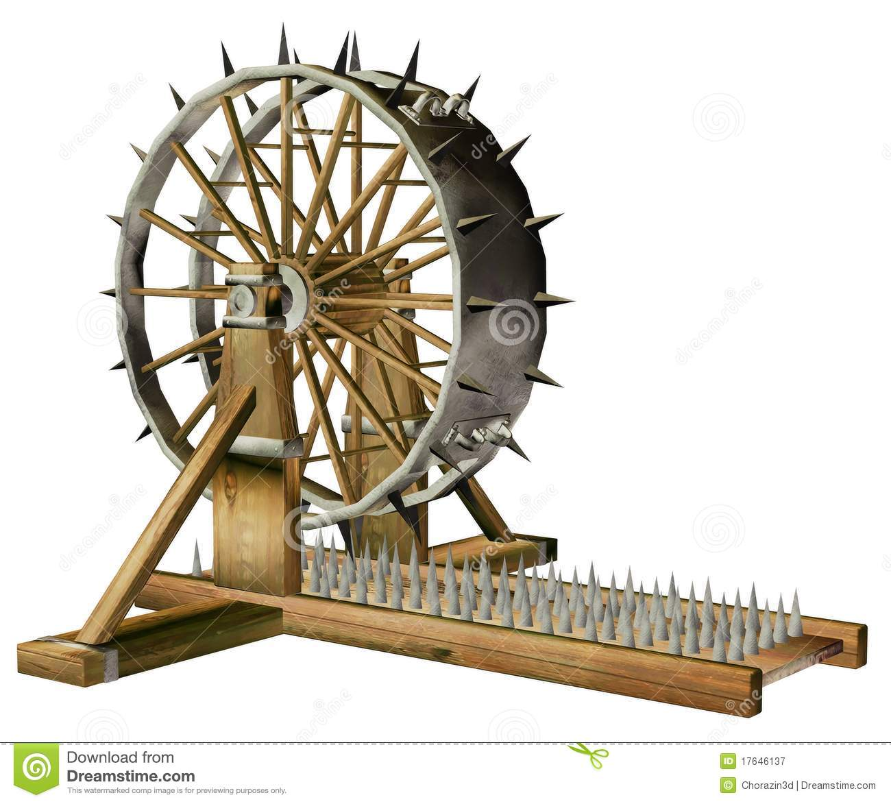 Torture Chair Stock Images.