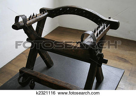 Stock Images of torture chair k2321116.