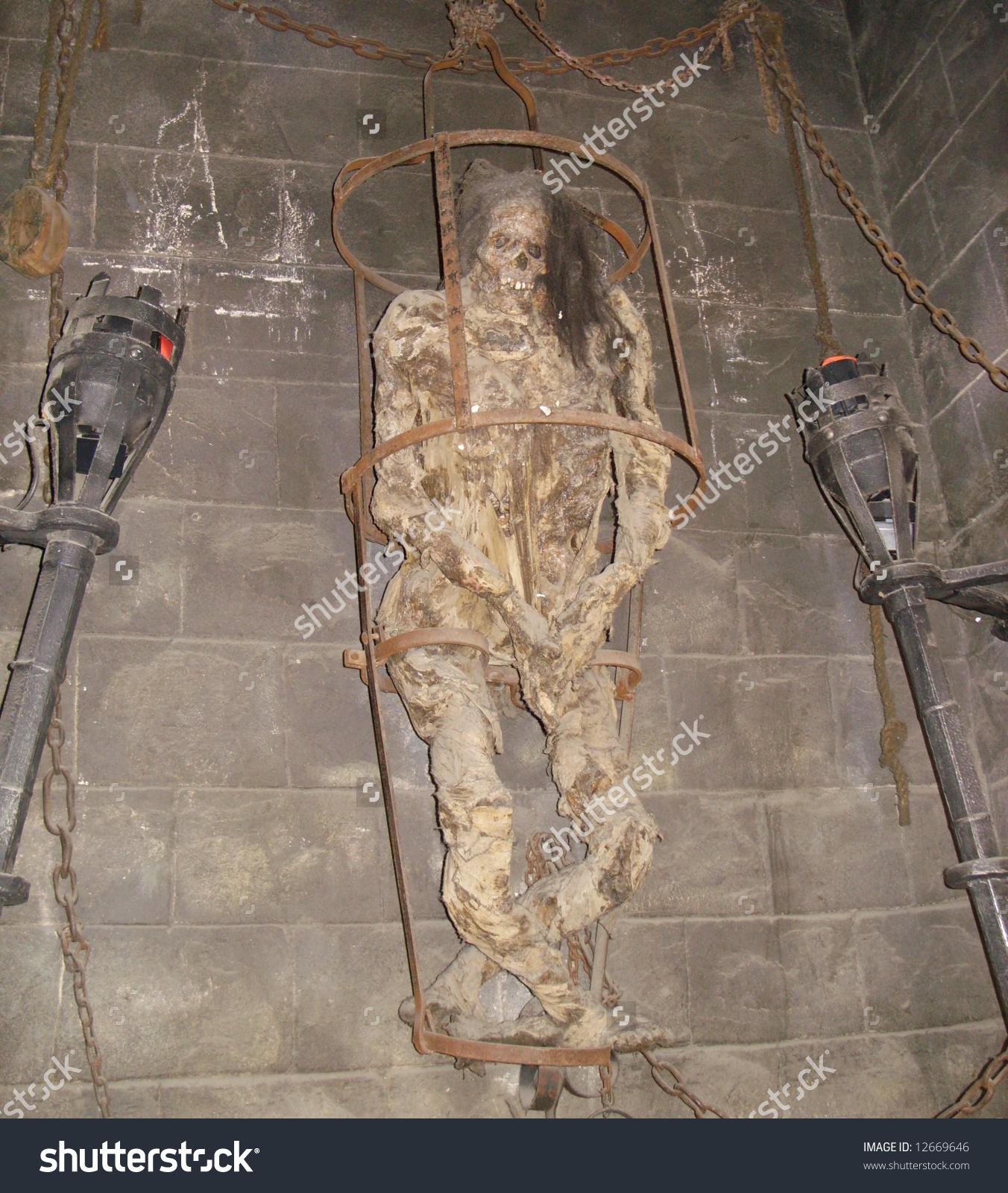 Torture Chamber Stock Photo 12669646.