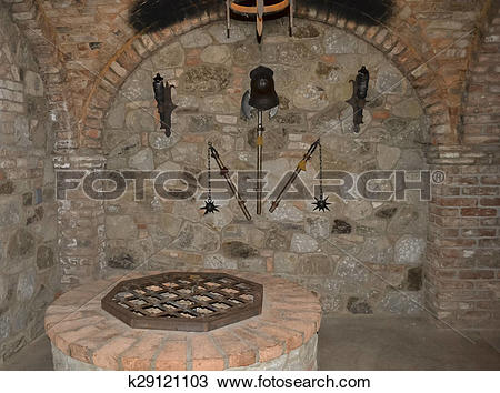 Stock Photo of Torture Chamber at Castello Di Amor k29121103.