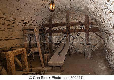 Stock Photo of torture room.