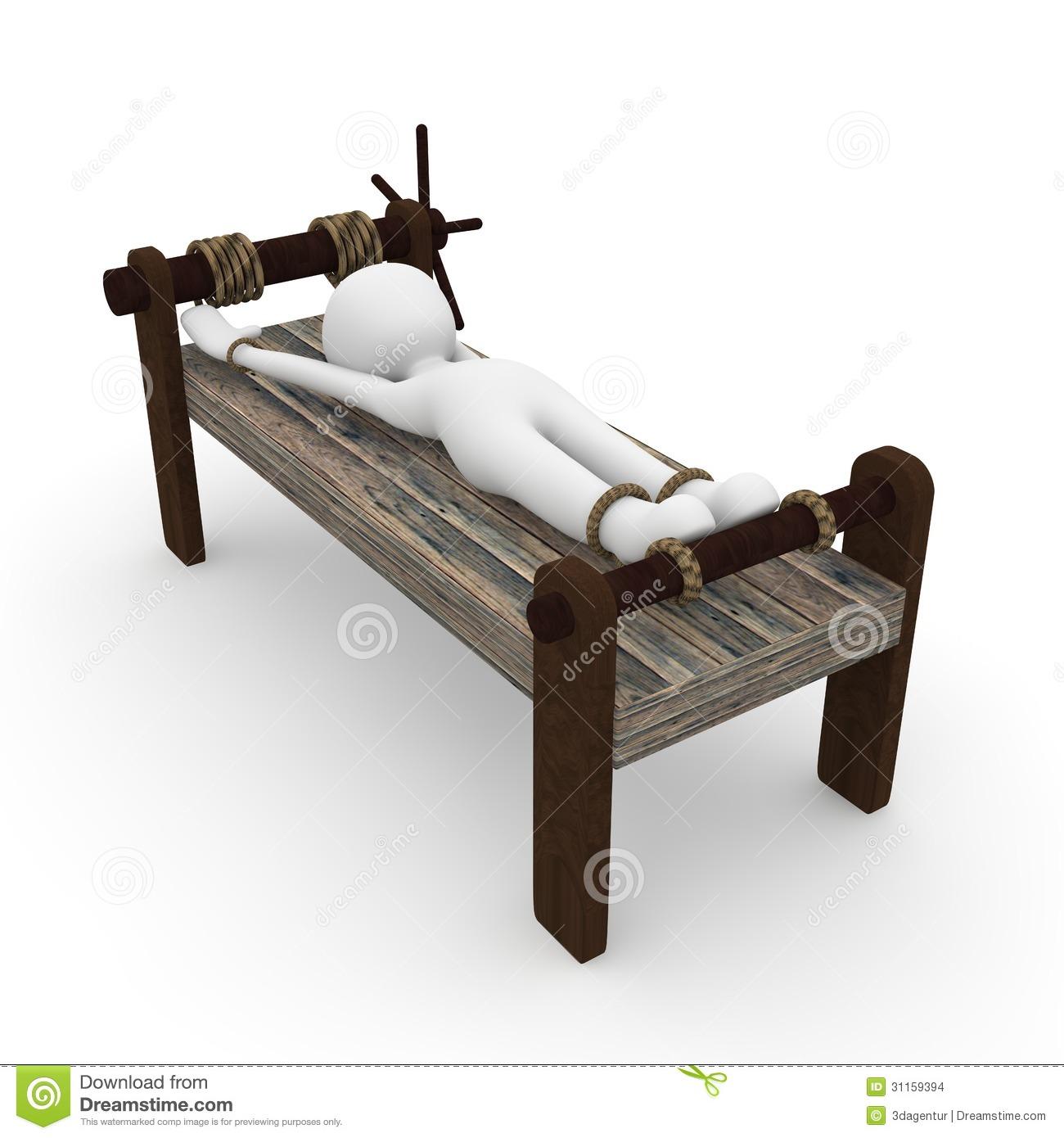 Medieval Torture Stock Illustrations.