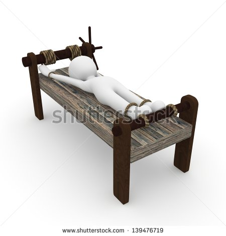 Medieval Torture Stock Images, Royalty.